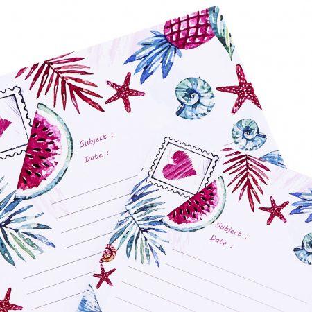 بسته کاغذ To do list - طرح تابستونی سایز متوسط