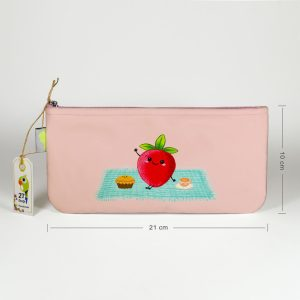 جامدادی میلکی طوطی-طرح توت فرنگی