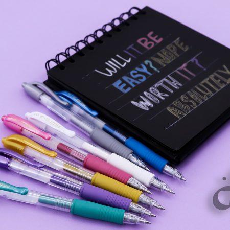 خودکار های رنگی پایلوت مدل G2 سری متالیک