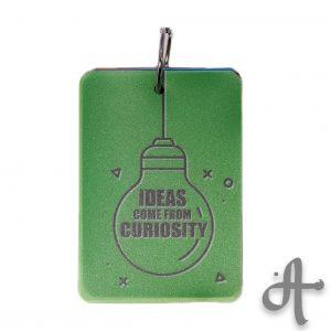 دفتر یادداشت نقطه ای- طرح Ideas Come From curiosity