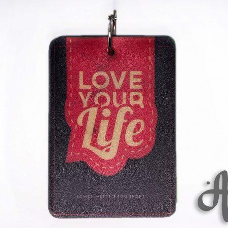 دفتر یادداشت نقطه ای- طرح love your life