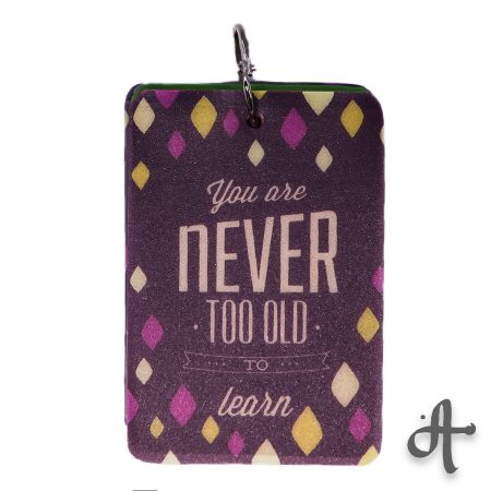 دفتر یادداشت نقطه ای- طرح You Are Never Too Old