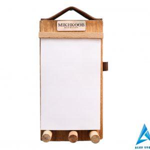 ست چوبی کاغذ یادداشت و جاکلیدی