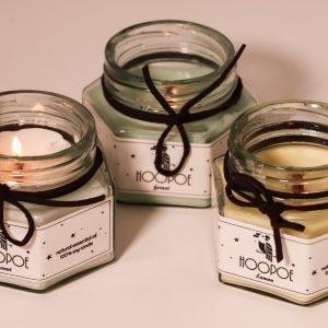 شمع های شش ضلعی معطر Hopoe