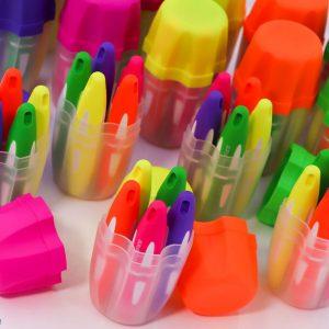 ماژیک هایلایت جعبه ای 5 رنگ اسکول فنز
