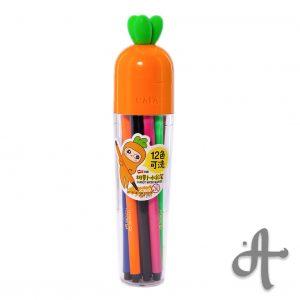 ماژیک 12 رنگ طرح هویج