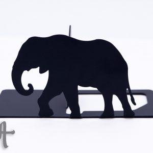 نگهدارنده کتاب طرح جنگل - فیل