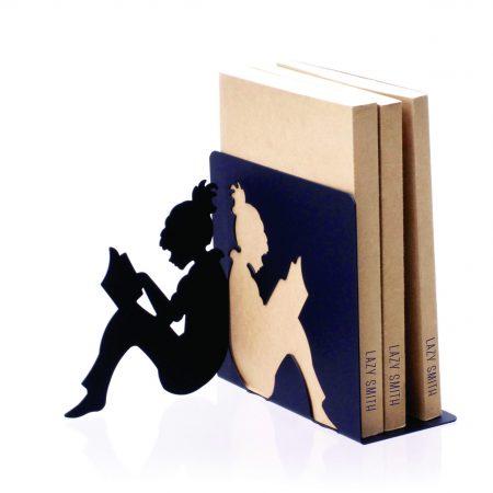 نگهدارنده کتاب طرح دختر کتابخون