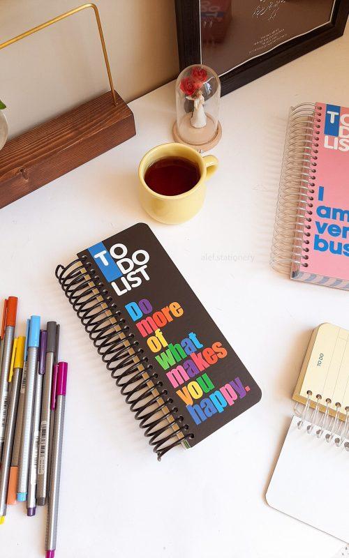 دفتر یادداشت to do list